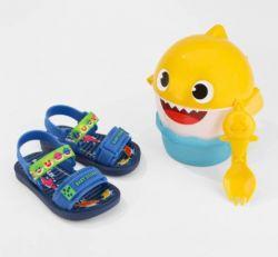 Sandalia Infantil Baby Shark 22520