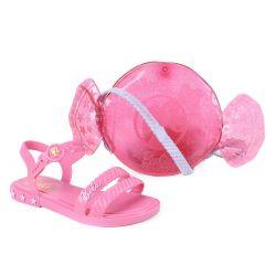 Sandália Grendene Kids Barbie Rosa  22492