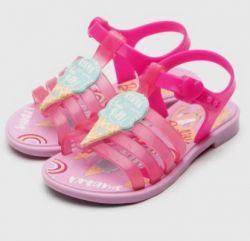 Sandália Grendene Kids Barbie Rosa 22587